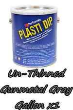 1 Gallon Gunmetal Grey UNTHINNED Performix Plasti Dip Concentrate FULL STRENGTH