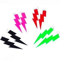 Women Boho Dangle Drop Hook Earring Acrylic Resin Ear lightning Earrings
