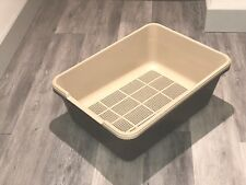 Maxi Sieve Litter Tray For Wood Pellets Includes 2 Sieves Plus 2 Base Trays
