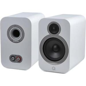 Q Acoustics 3030i Regallautsprecher Kompaktlautsprecher Stereo Weiß Arctic White