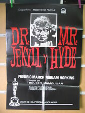 1832       EL HOMBRE Y EL MONSTRUO DR JEKYLL AND MR HYDE FREDRIC MARCH