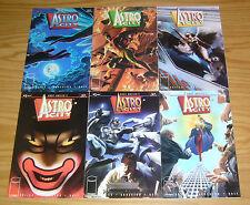 Astro City #1-6 VF/NM complete series - kurt busiek - alex ross 2 3 4 5 set lot