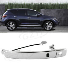 Front Driver Side Outside Door Handle Smart Entry Bar For Nissan Murano 2003-07