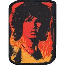 Doors Men's Jim Morrison 1 Screen Printed Patch Black Rockabilia