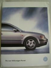 VW Passat Saloon range brochure c1997