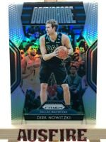 NBA Dirk Nowitzki Dallas Mavericks Panini Silver Prizm Dominance Card #21