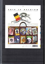 BLOK 108 this is belgium POSTFRIS** 2004