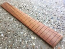 Slotted and Radiused , Short Scale Bass Fretboard. New Guinea Rosewood.