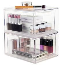 Acrylic Cosmetic Makeup Jewelry Storage Organizer Clear Box Display Drawer Case