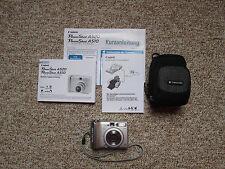 Canon PowerShot A520 Digitalkamera neu + Samsonite-Tasche + Zubehörpaket