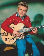 Tommy Steele HAND SIGNED 8x10 Photo, Singing The Blues, Rock With The Caveman D