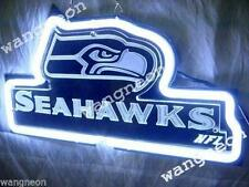 NEW Seattle Seahawks Neon Sign SUPER BOWL CHAMPIONS Beer Bar Light FAST SHIPPING