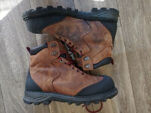 Red Wing Shoes Boots 9.5 Wide Safety Toe American Made