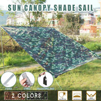 Sun Shade Sail Sand Awning Outdoor Garden Camping Canopy Patio Tent Cover