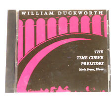 Neely Bruce-Piano-CD-Duckworth - The Time Curve Preludes-Lovely Music