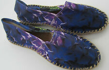 Paul Smith Espadrilles EU37 UK4 Blue Floral Hobo