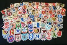 Massive Collection of 100 Old Football Soccer Clubs Double Sided Pennants