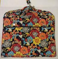 Vera Bradley Garment Bag  appy Snails Red Yellow Blue Zipper Hanging Travel