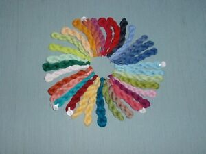 Lot of 32 Needlepoint Embroidery Threads New Unbranded No repeats Floss