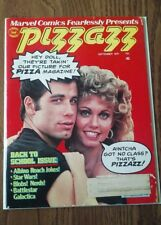 Pizzazz Marvel magazine (Sept,1978) Grease cover
