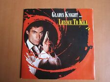 "7"" Single - Licence To Kill, Gladys Knight, James Bond Theme"