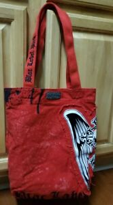 """Blac Label Pink """"Red"""" Canvas Tote Bag"""