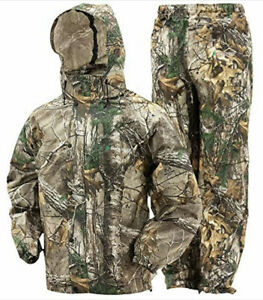Frogg Toggs All Sport Realtree Xtra Mens Camo Rain Suit Gear Sz Medium Hunting