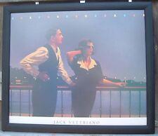 """Midnight Blue 17 """"x 15 """" Art Print Framed Jack Vettriano"""