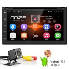 Double 2 Din 7'' Car GPS NAV CD DVD Head Unit Stereo Radio MP5 MP3 Player FM TV