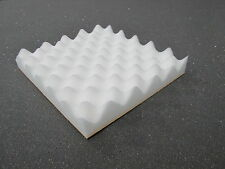 Acoustic Foam  Tiles Self Adhesive Backed in white