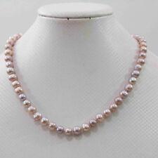 Delicada Perla Y Rosa Oro Diamante Gota Flotante Ilusión Collar De Novia 4AiS