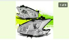 FOR 09-14 NISSAN MAXIMA CHROME HOUSING CLEAR CORNER PROJECTOR HEADLIGHT HEADLAMP