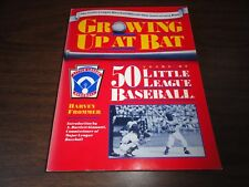 LITTLE LEAGUE BASEBALL - GROWING UP AT BAT – 50 YEARS OF LITTLE LEAGUE HISTORY