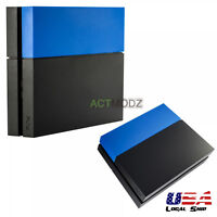 Solid Matte Blue Hard Drive Bay Cover Faceplate for Playstation 4 PS4 Console