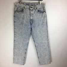 Vintage USA Levis Jeans 505 Regular Fit Acid Wash Tag Size: 38x30 (36x27) #3680