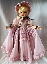 "Vintage Effanbee 1952 Strung HONEY 18"" Hard Plastic Southern Belle Doll F&B"