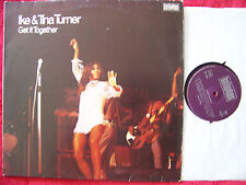 Ike & Tina Turner - Get it together       German Bellaphon  LP