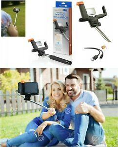 SELFIE STICK WITH MIRROR EXTENDABLE WIRELESS BLUETOOTH RECHARGABLE PIC STICK