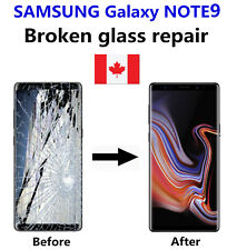 Samsung Galaxy Note 9 Cracked Glass ONLY/Working LCD mail-in Repair Service