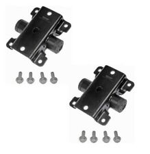 For Chrysler Voyager Dodge PAIR Set of 2 Leaf Spring Hanger Rear Dorman 722-081