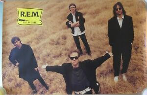 REM R.E.M. Out of Time Vintage Poster 1991!