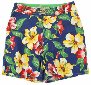Polo Ralph Lauren Swimsuit Aloha Floral Flower Print