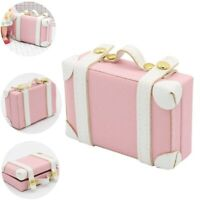 1: 6 Maison de Poupée Mini Valises Mini Maison Creative Portable Valise Diy K5W4