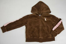 GYMBOREE GIRLS 5 HOODIE JACKET TEACHERS PET SIAMESE KITTY CAT BROWN VELOUR