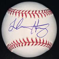 Luke Haggerty Chicago Cubs Signed Autographed Baseball ROMLB
