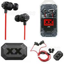 GENUINE JVC HAFX1X HA FX1X XTREME XPLOSIVES IN EAR CANAL HEADPHONES EARPHONES