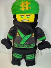 "Lego Ninjago Movie 20"" Plush LLoyd Green Ninja Character Pillow Pal Stuffed Toy"
