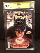 Batman #45 CGC SS 9.6 2018 Tony Daniel Signature Signed Autograph Rebirth DC