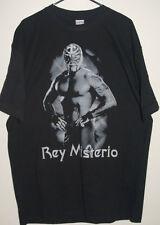 rey mysterio shirt black s/s xl wwe wwf  pro wrestling luchador gift