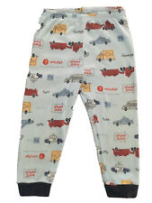Boys 3 3T Pajama Bottoms Long Carters Transportation Police Ambulance Trucks